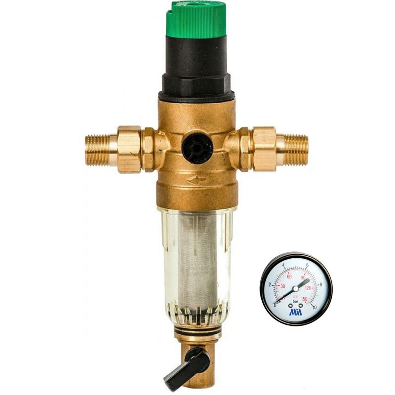 Фильтр с редуктором давления 3/4 для холодной воды Millennium